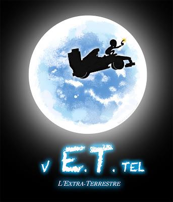 Себастьян Феттель - Инопланетянин E.T. - комикс Cirebox 2011