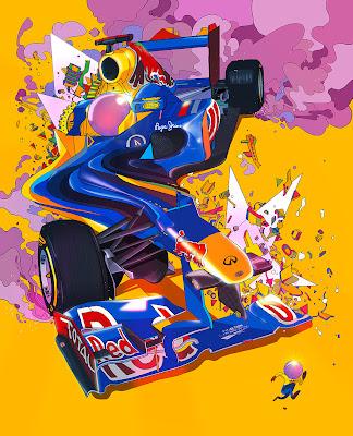 2012 Red Bull рисунок sakiroo