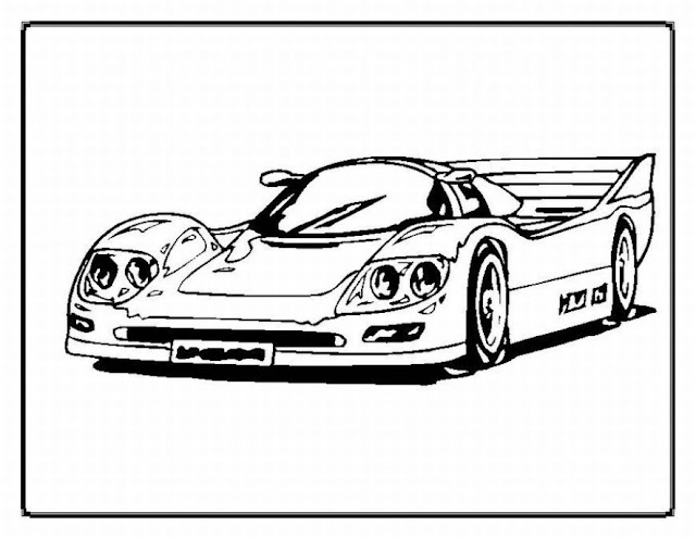 sports car coloring pages - Luxury Cars Coloring Book co uk