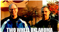 Brad and Rex: co-hosts of Two Wheel Oklahoma