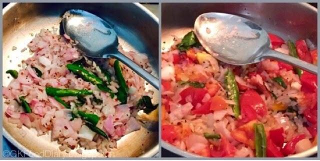 Onion Tomato Gravy Recipe | Side dish For Chapati/Roti 4
