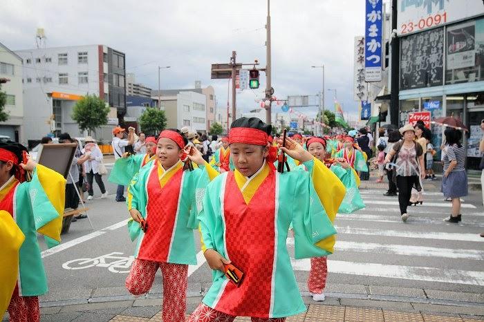第61回よさこい祭り☆本祭1日目・上町競演場107☆上1目0148