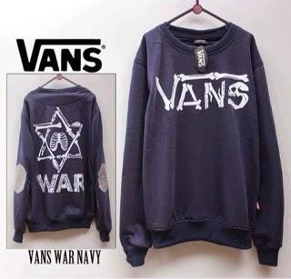 Jaket Vans War Navy