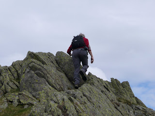 The final ascent to Rannerdale Knotts