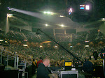 We played the opening of the sprint center