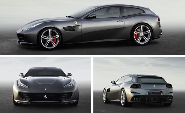 2017 Ferrari New GTC4Lusso Boast Four Wheel-Drive Revealed Release Car Review Specs