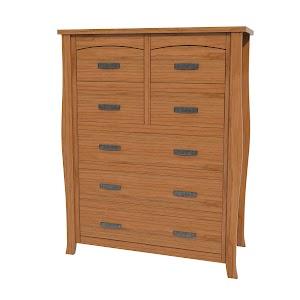 Cascade Vertical Dresser