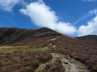 Path to Grasmoor