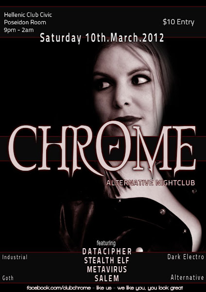 chrome poster