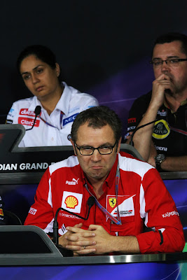Стефано Доменикали not bad на пресс-конференция Гран-при Индии 2012