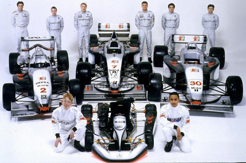команда McLaren и ее пилоты в 1998 году