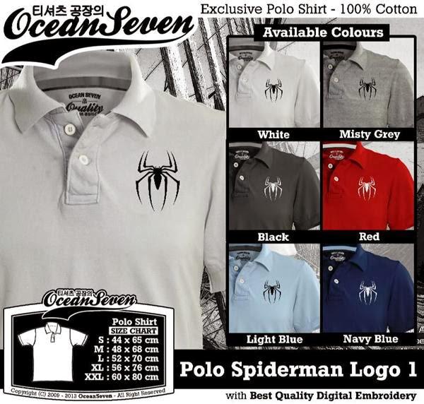 POLO Spiderman 1 Logo distro ocean seven