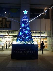 アルカタワーズ錦糸町のクリスマスイルミネーション2012-2013
