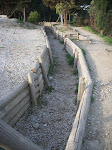 Gallipoli - trenches from the war