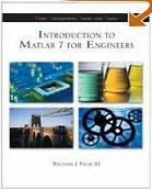 Text: Introductions to MATLAB 7. Description: Picture of Aaron's Matlab text book.