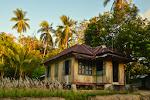 Typowe wyglad domu na Belitungu.