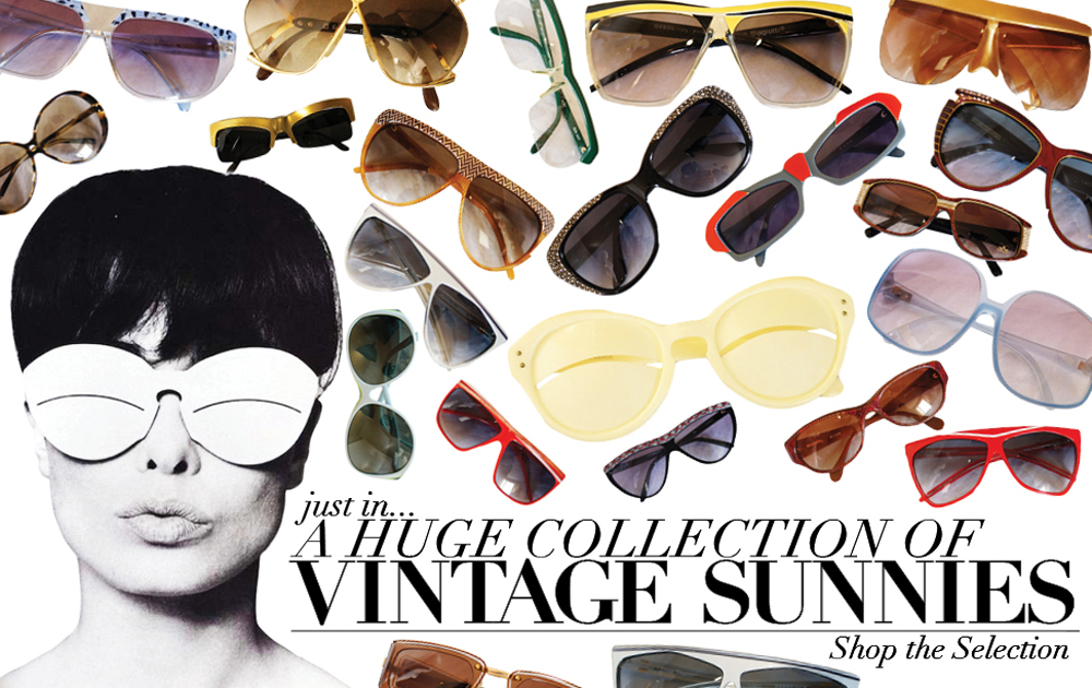 A Vintage Sunglass Collection at Shrimpton Couture!