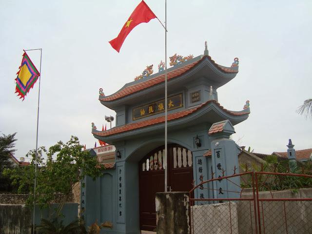 Cổng Nhà thờ Nguyễn Đại tôn