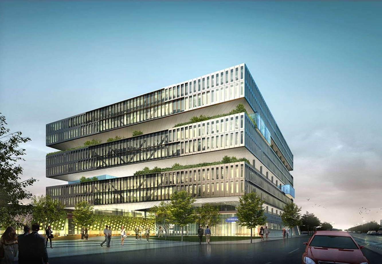 Samsung American Headquarters by Nbbj