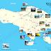 Peta Objek Wisata Di Bali
