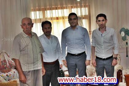 Gazi Er  ve Ailesi Ziyaret Edildi