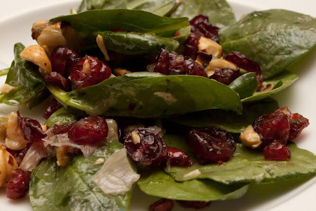 Roasted fennel and hazelnut salad