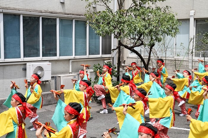 第61回よさこい祭り☆本祭2日目・川村病院18☆上2目0686