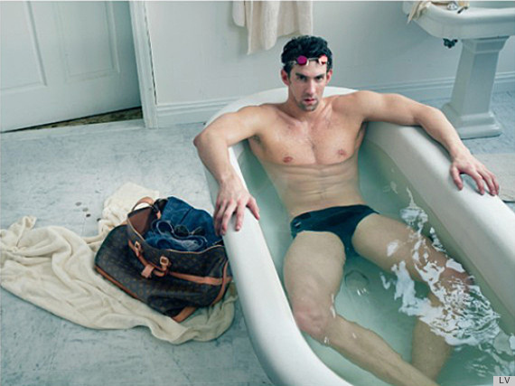 Michael Phelps for new Louis Vuitton Ad Campaign
