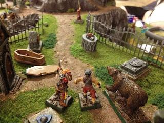 Vampiress retreats