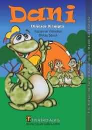 dani dinozor kampta afişi