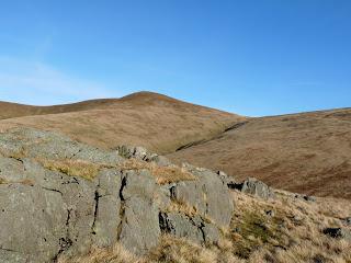 Stybarrow Dodd from Brown Crag