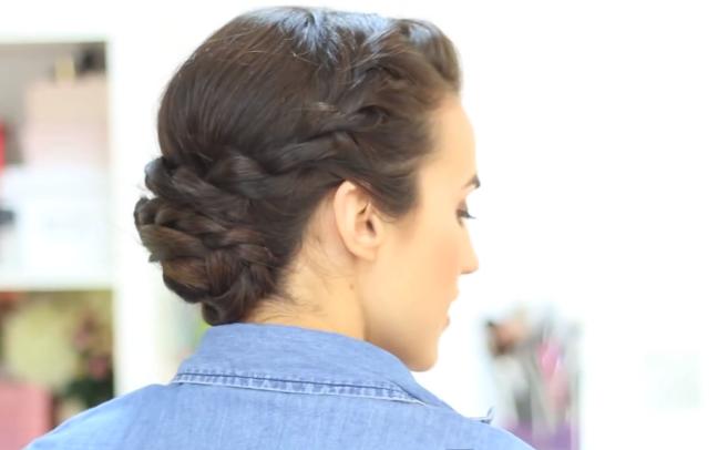 peinados nia pelo rizado