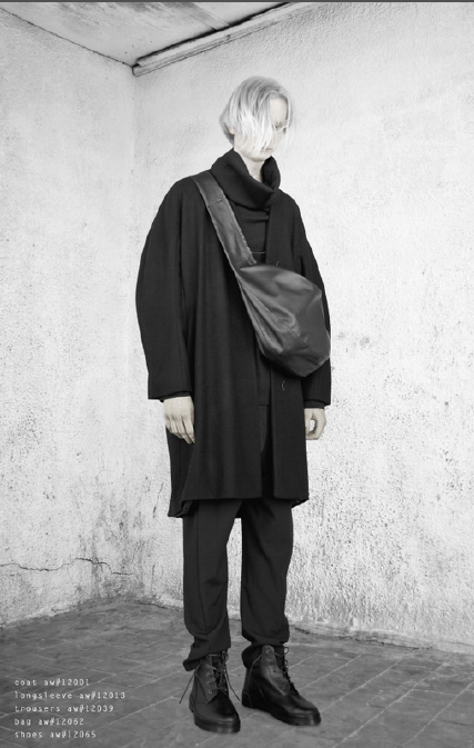 Sosnovska, Deviating from the Norm [men's fashion]