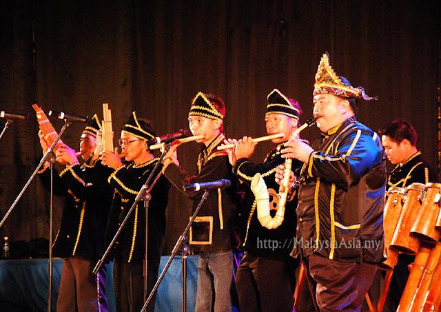 Bamboo Band from Sabah