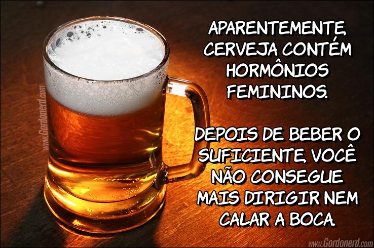 cerveja hormonios Dose hormonal