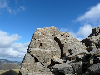 Rocks on ascent of Great Gable