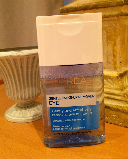 L oreal eye makeup remover review