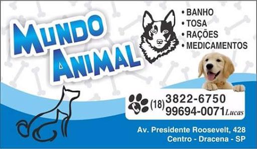Mundo Animal, Av. Pres. Roosevelt, 428 - Centro, Dracena - SP, 17900-000, Brasil, Loja_de_animais, estado São Paulo