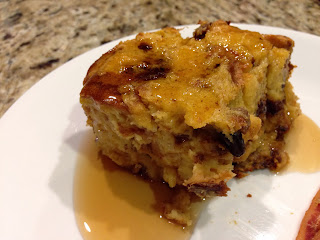 Eggnog Panettone French Toast Bake