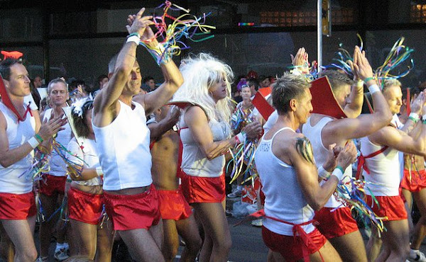 gay mardi gras. photo by Jeremy Vandel CC BY