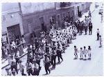 Fiestas patronales de san Juan. Años 70. (Charles). Biblioteca Municipal de Catral.