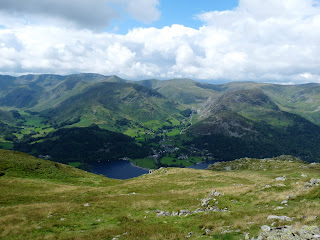 Helvellyn range from Place Fell