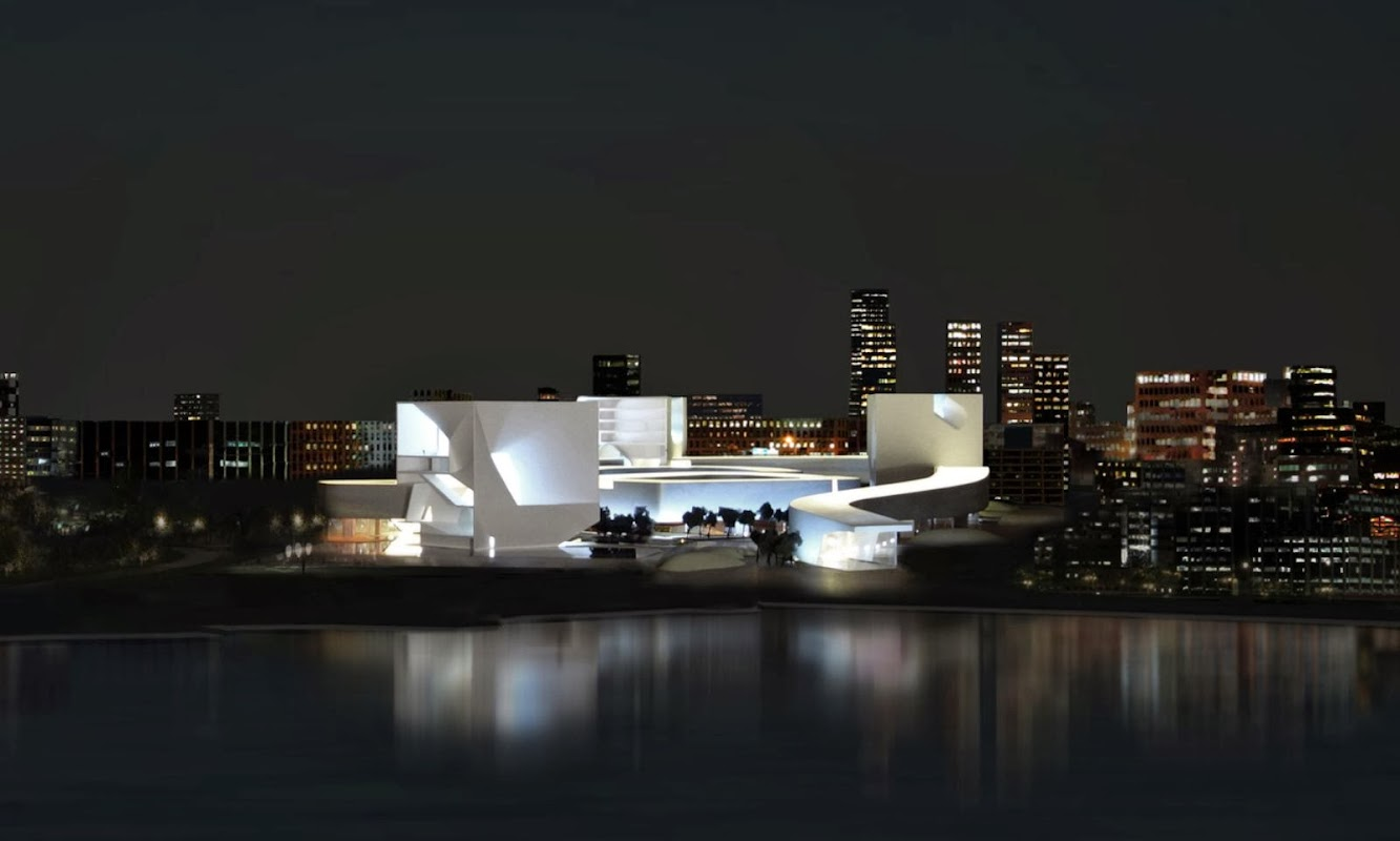 Tsingtao, Sciantung, Cina: Steven Holl Wins Qingdao Culture And Art Center Competition