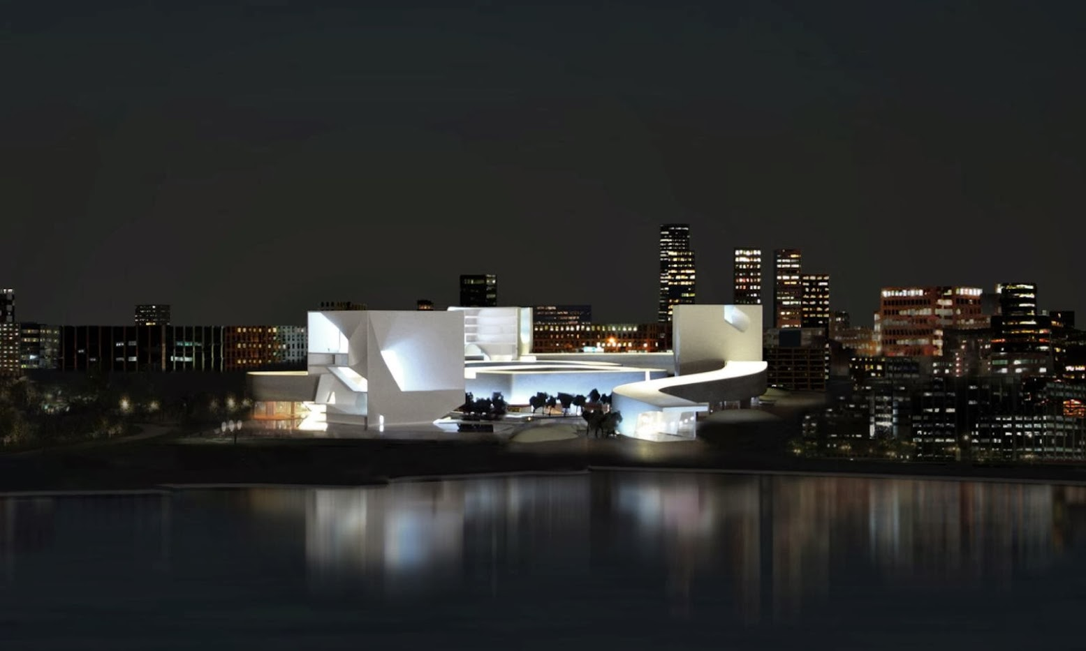 Tsingtao, Sciantung, Cina: [STEVEN HOLL WINS QINGDAO CULTURE AND ART CENTER COMPETITION]