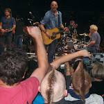 We went to see Keith Urban tonight...Jerry threw picks to Aden & Al