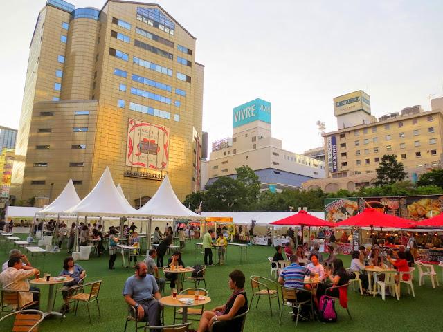 The Kyushu Beer Festival, at Fukuoka City Hall