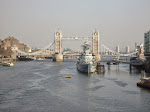 Tower Bridge and the HMS Belfast
