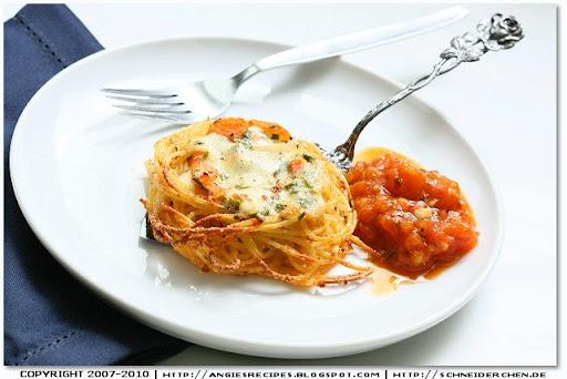Spaghetti Nest - Recipes Hubs