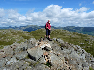 David at the summit of Sergeant Man