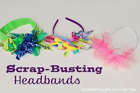 Scrap Busting Headbands